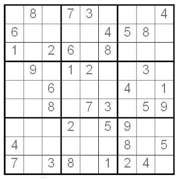 Sudoku fácil | nosequemasda