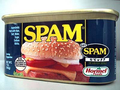 ¿Por qué el spam se llama spam?